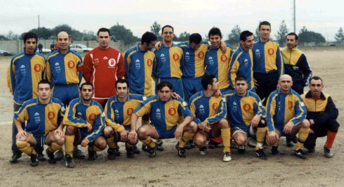 Paulese Calcio · Paulilatino 2003