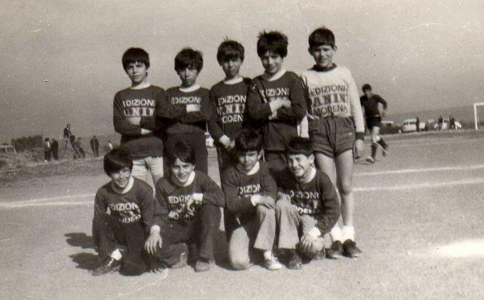 Amichevole a Milis 1971