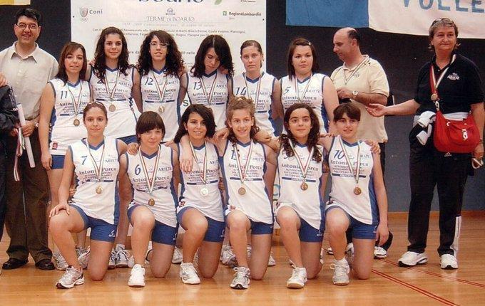 Ariete Pallavolo Under 14 Boario Terme 2008