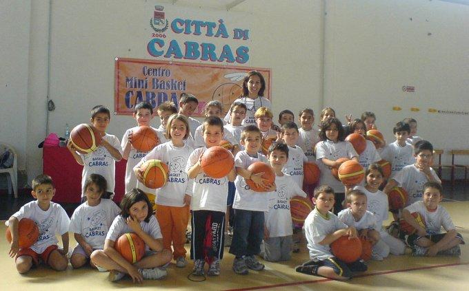 Centro Mini Basket - Cabras 2008