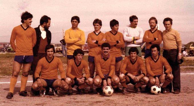 Milese Calcio anni ottanta