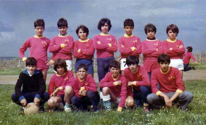Milese Calcio inizi anni settanta