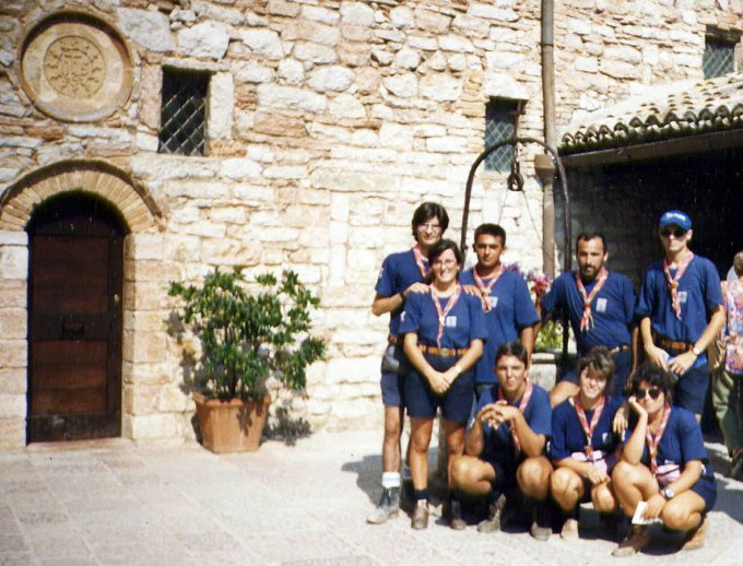 Scout Gruppo OR3 - Assisi 1992