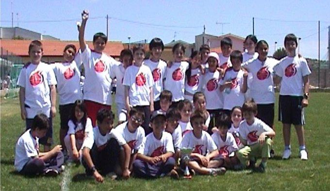 La scuola nello sport Narbolia 2008
