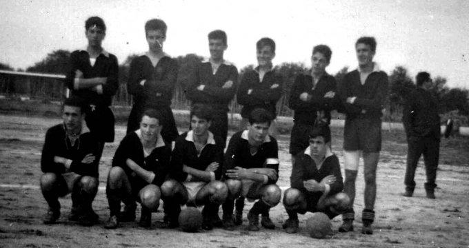 Superga Calcio Oristano anni sessanta
