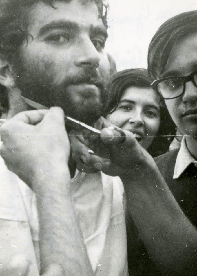Taglio della barba di Beppe