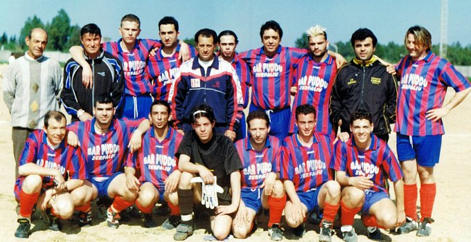 Zerfaliu Calcio anni novanta