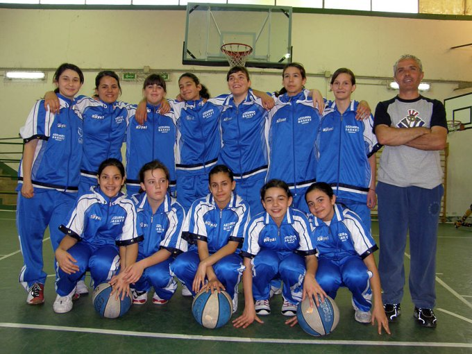Azzurra Basket Under 14 Oristano 2006-2007