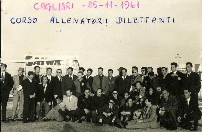 Corso Allenatori Calcio Cagliari 1961
