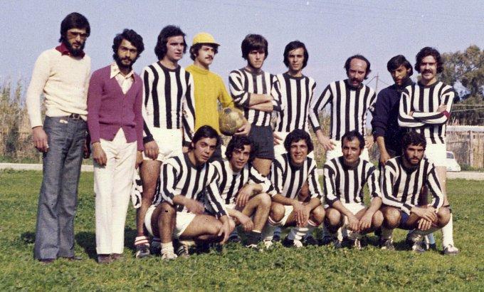 Donigala Calcio inizi anni settanta