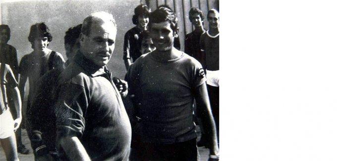 Giovanni Casu in allenamento