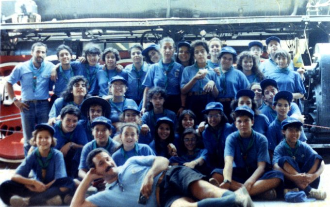 Gruppo Scout OR1 - Cagliari 1989