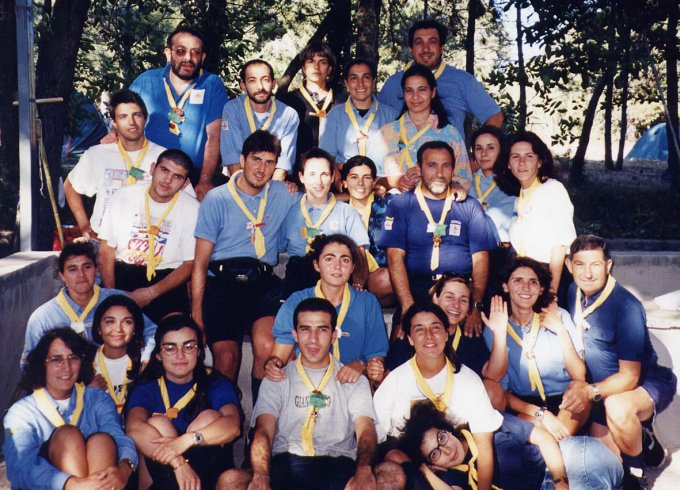 Gruppo Scout OR1 Laconi 1998