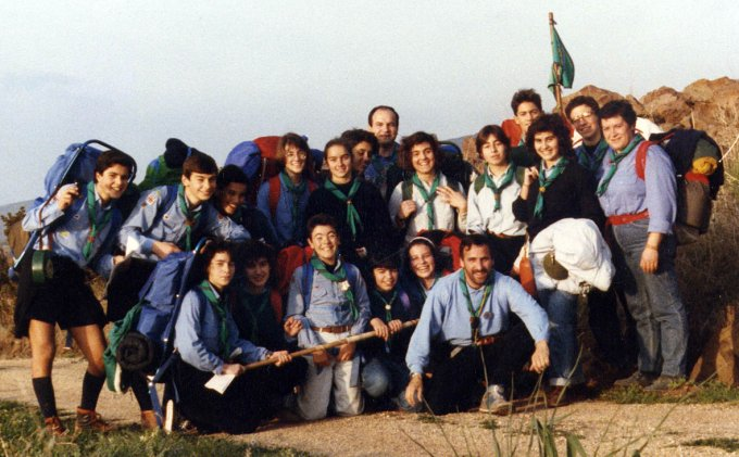 Gruppo Scout OR1 Monte Arci 1989