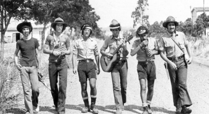 Gruppo Scout OR1 - Oristano 1974