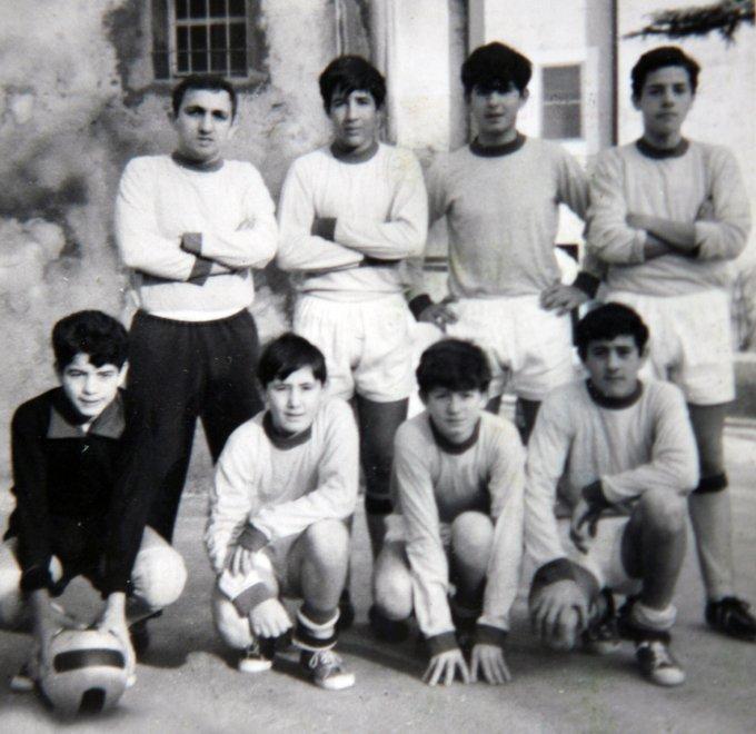 Collegio Sant'Ippolito Fiumicino fine anni sessanta