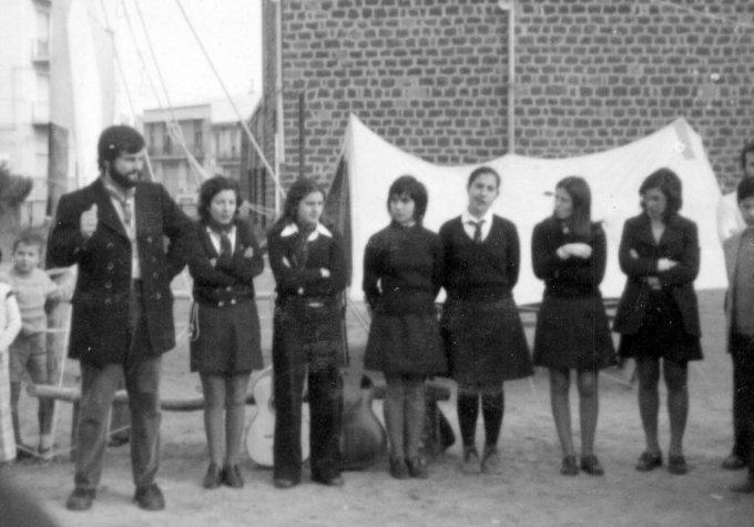 Gruppo Scout OR1 - Oristano 1972