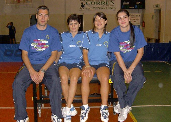 A.S.D. Tennistavolo Norbello Femminile 2007