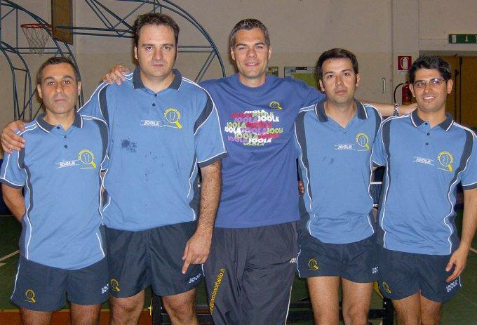 A.S.D. Tennistavolo Norbello 2007-2008
