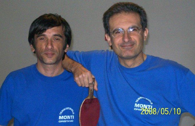 ASD TennisTavolo Oristano - Mandas 2008