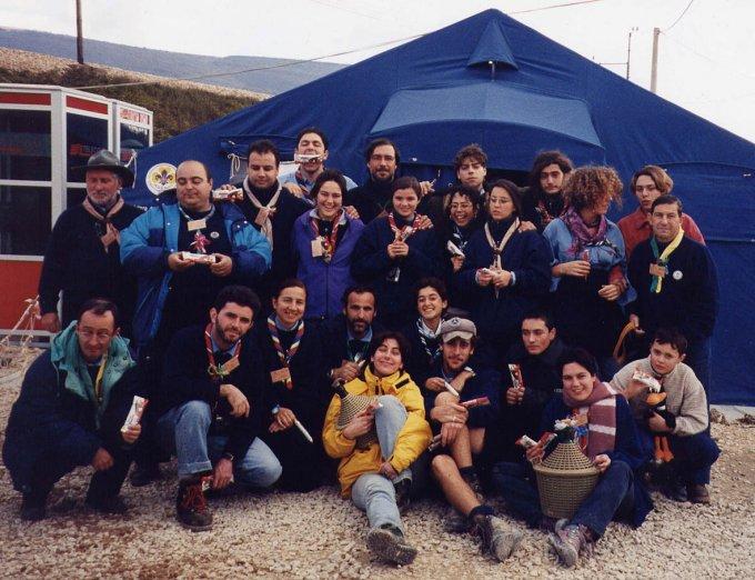 Scout della Sardegna - Umbria 1997