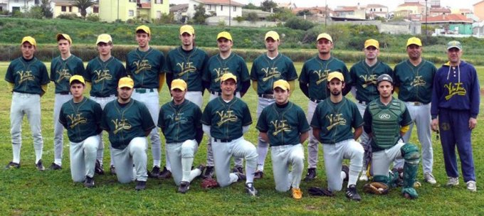 Yellow Team Baseball Sassari 2008