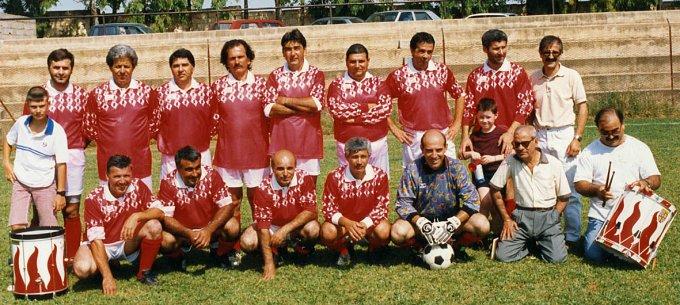 Arca Enel Calcio Sassari anni novanta