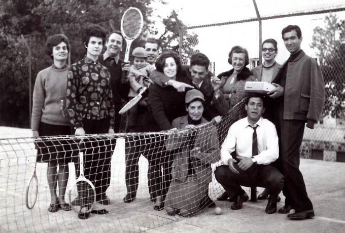 Circolo Tennis Ghilarza anni sessanta