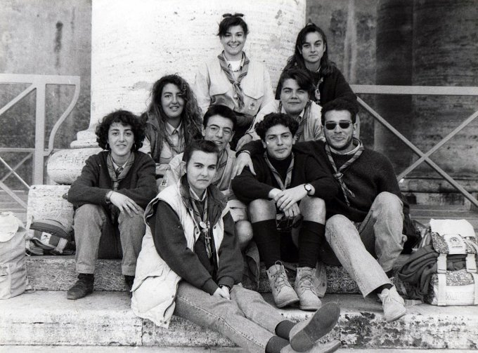 Gruppo Scout OR1 - Assisi anni novanta