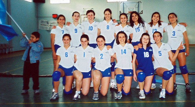 Ariete Pallavolo Femminile 2002
