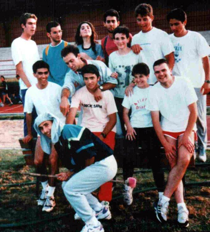 Atletica Oristano inizi anni novanta