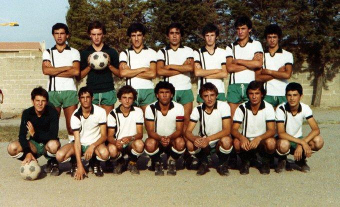 Folgore Calcio Allievi Oristano anni settanta