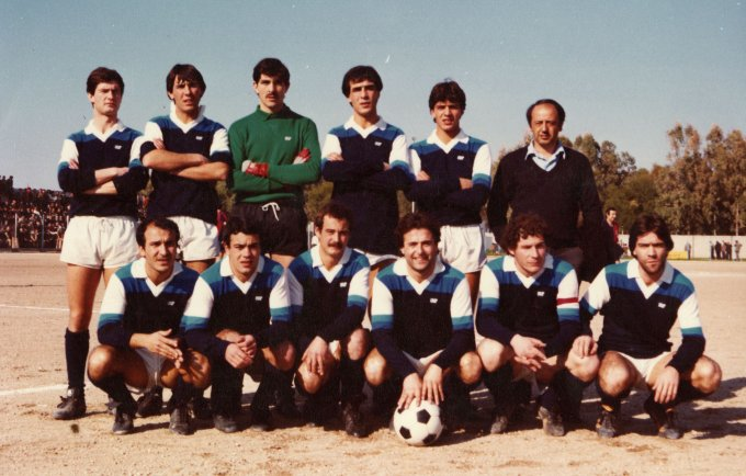 San Marco Calcio Cabras anni ottanta