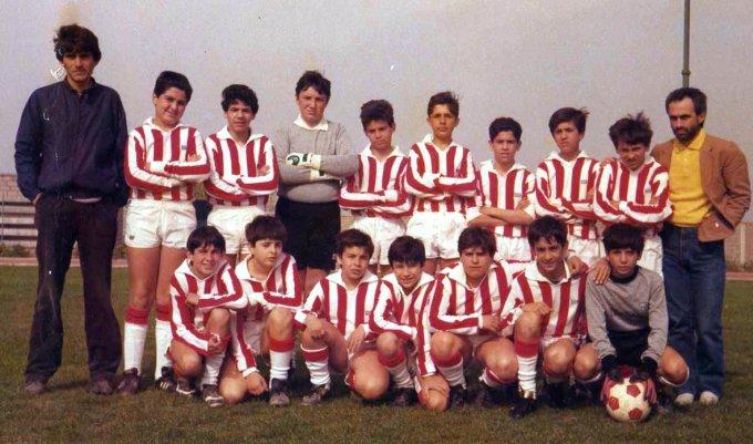 Tharros Calcio Ragazzi Oristano primi anni \'80