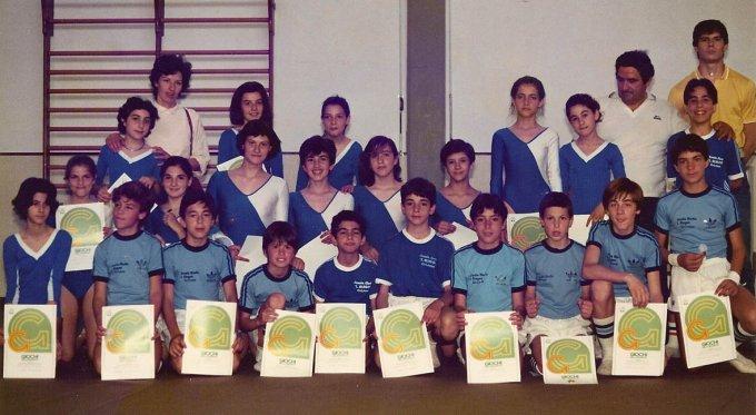 Scuola Leonardo Alagon Oristano 1985 UNO