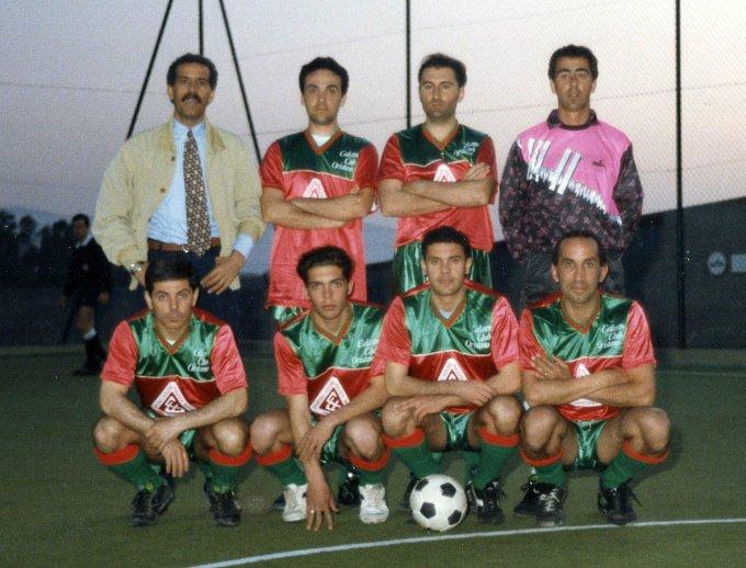 Calcetto Club Oristano inizi anni novanta