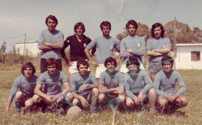 Sacro Cuore Calcio Oristano anni settanta