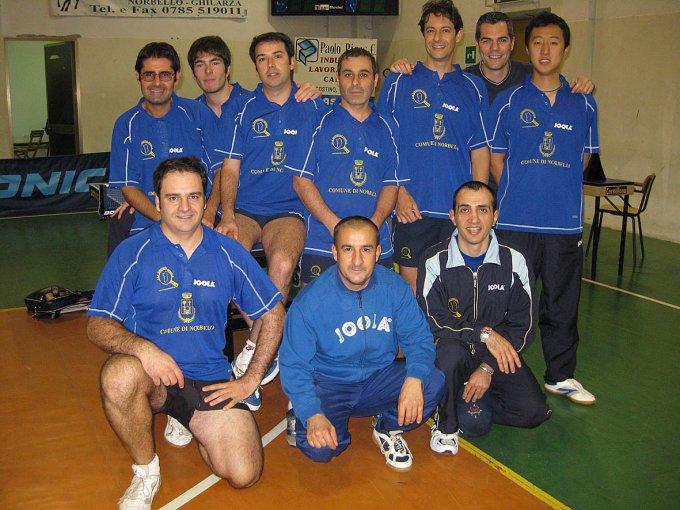 Tennistavolo Norbello 2008