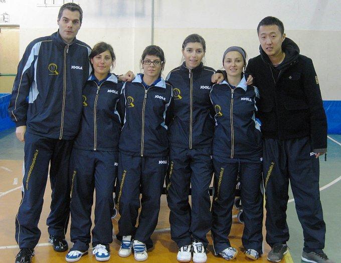 Tennistavolo femminile Norbello 2008