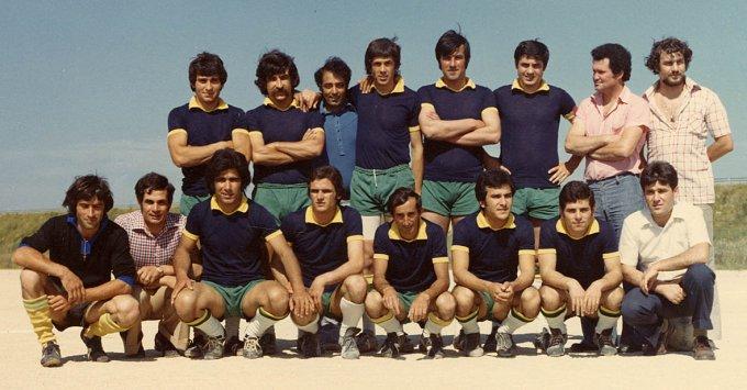 Aeden Calcio Santa Giusta 1972-1973