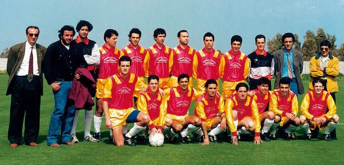 Ghilarza Calcio anni novanta