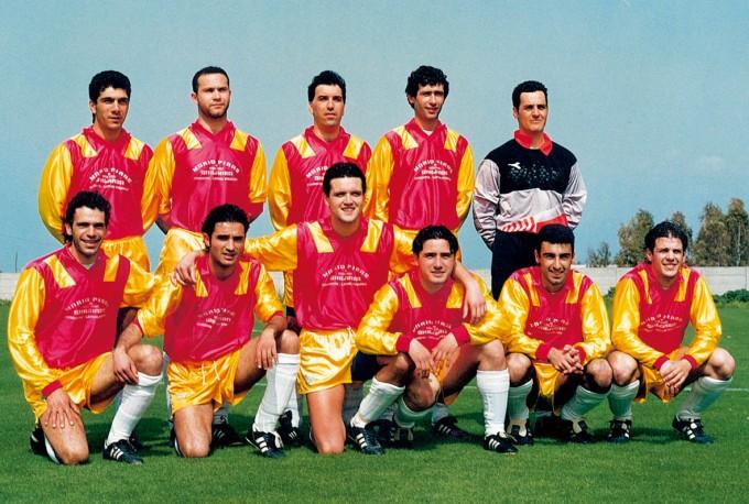 Ghilarza Calcio anni novanta DUE