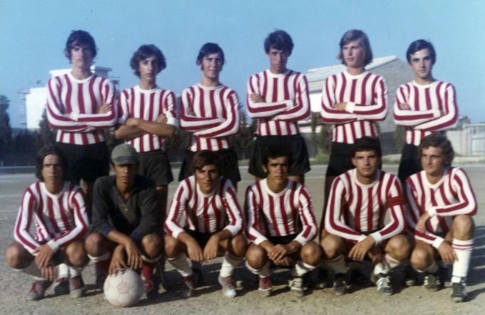 Folgore Oristano fine anni sessanta