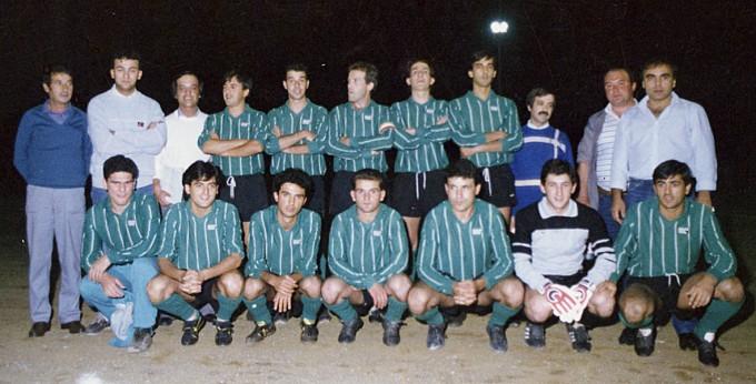 Torneo Notturno Abbasanta - anni 80