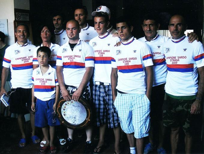 Campioni sardi UDACE strada 2009