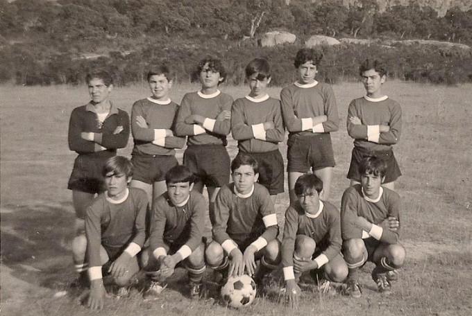 Busachese Calcio - Busachi anni sessanta