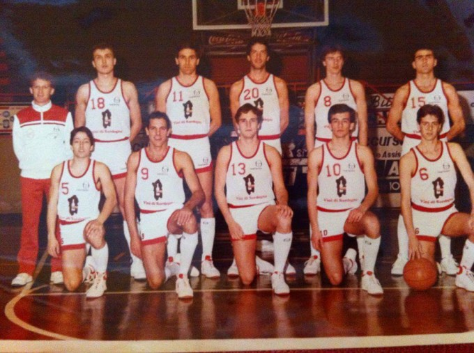Esperia Basket - Cagliari 1985-1986