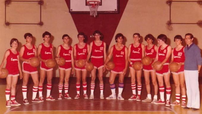 Esperia Basket - Cagliari anni settanta