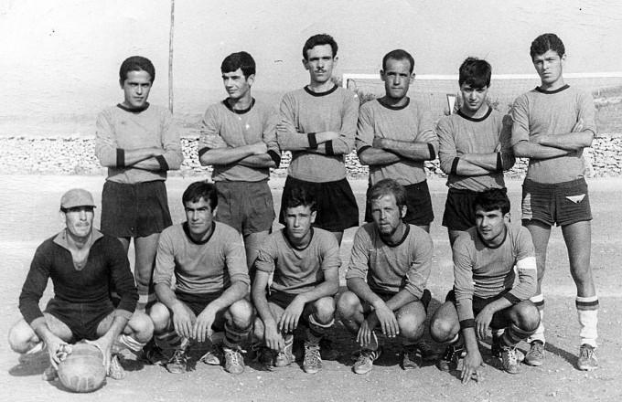Monte Alma Calcio - Nulvi 1968-1969