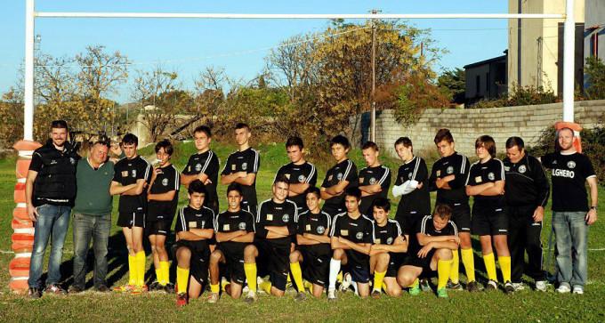 Alghero Rugby Under 16 - 2012-2013